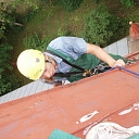 Industrial climbing, work at height