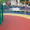 Gumijas granulu klājumi bērnu laukumiem