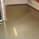 easy to clean floor in technical rooms