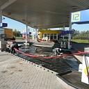 Ģeosintētisko materiālu iebūve degvielas uzpildes stacijās