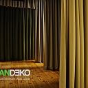 ALANDEKO aizkari skatuvei akustiskie aizkar