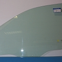 5658RGNV5FD MITSUBISHI SPACE WAGON III 99 04  Car Door Window Green   Front Right   Driver Side 2 Holes