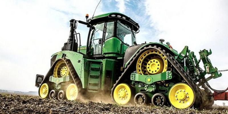 JOHN DEERE traktori, tirdzniecība serviss, rezerves daļas