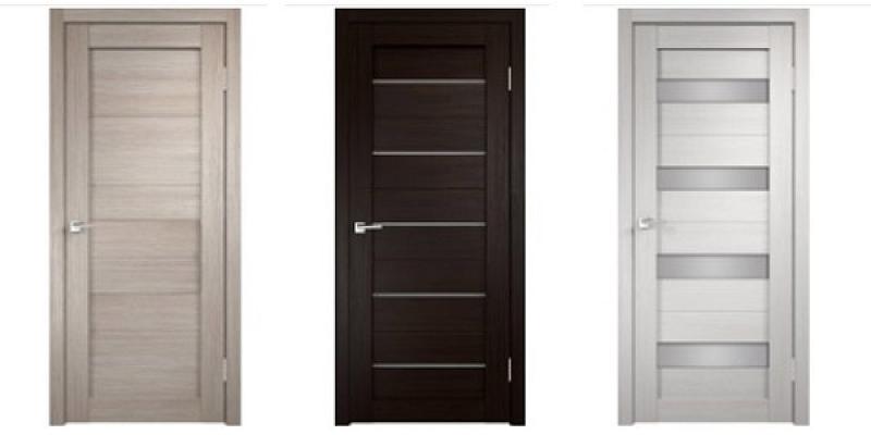 PVC pārklājuma durvis
