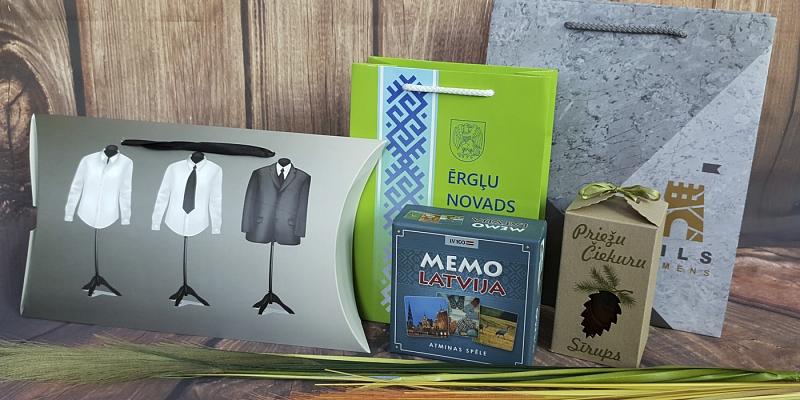 Papīra maisiņi, kastītes, iepakojums