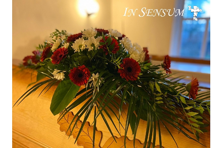 Wreaths and bouquets, flowers