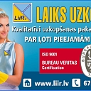 Territory cleaning, service LIIR Latvia SIA all over Latvia