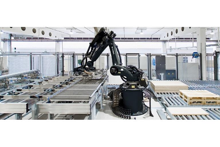 Ražošanas un ražošanas procesu automatizācija: noliktavas pārvalde, transportēšana un pārvietošana, iepakošana