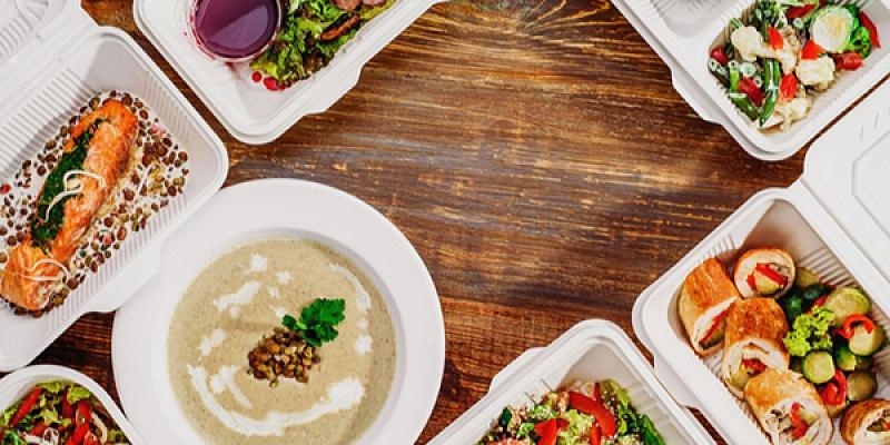 Komplekso pusdienu piegāde – ne mazāk kā 3 porcijas! Ēdiens tiks piegādāts silts un noteiktajā laikā un vietā! Plāno laiku jau tagad!