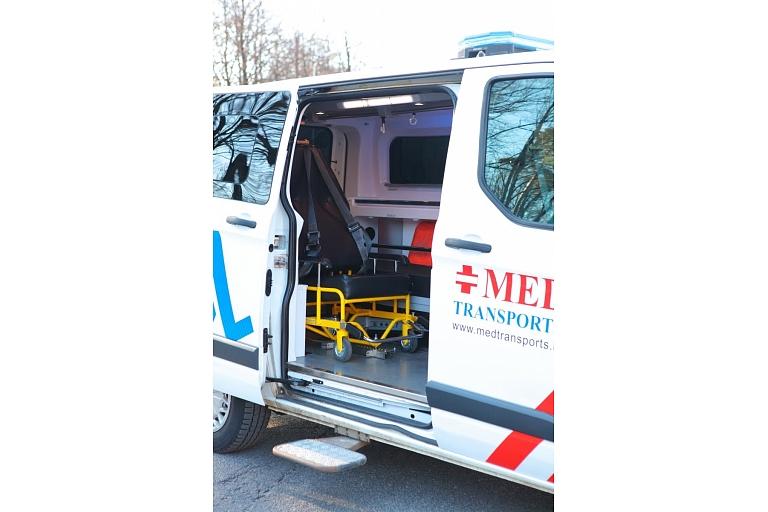 Invalīdu transportēšana