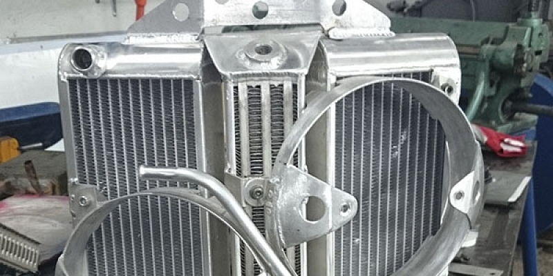 Auto radiatoru remonts