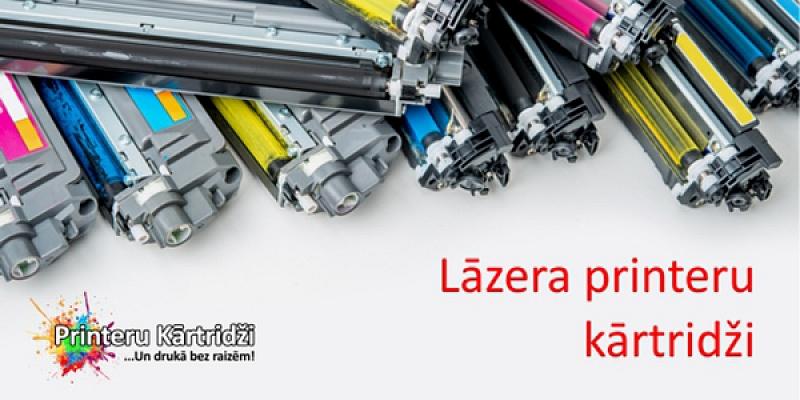Lāzera printeru kārtridži