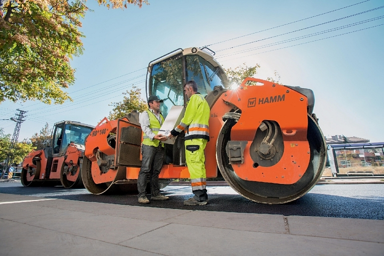 HAMM offers a wide range of soil and road construction machinery of all types
