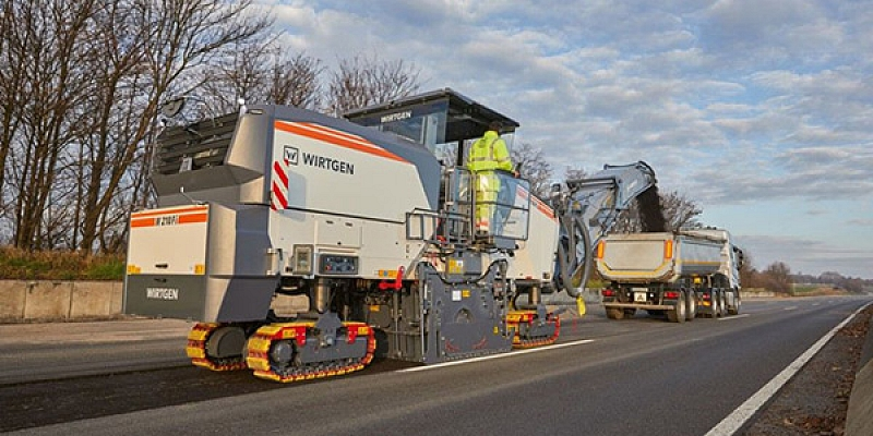Road construction and quarrying machinery trade