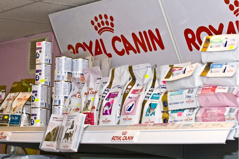 Professional feed from Royal Canin