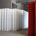 Plastic boxes production