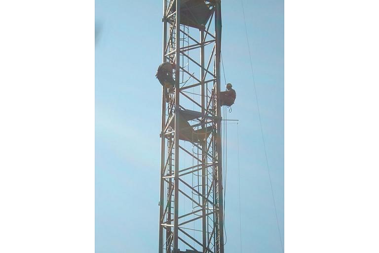 Industrial climbing