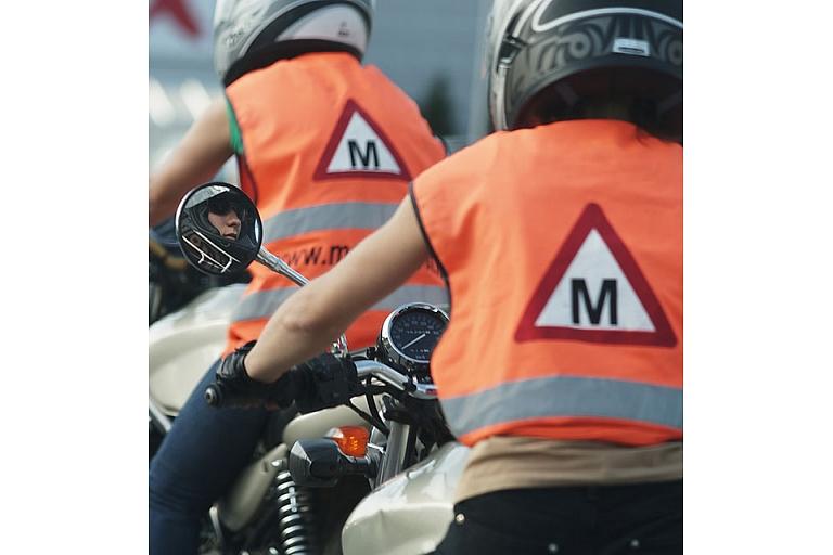 Mācības motociklistiem