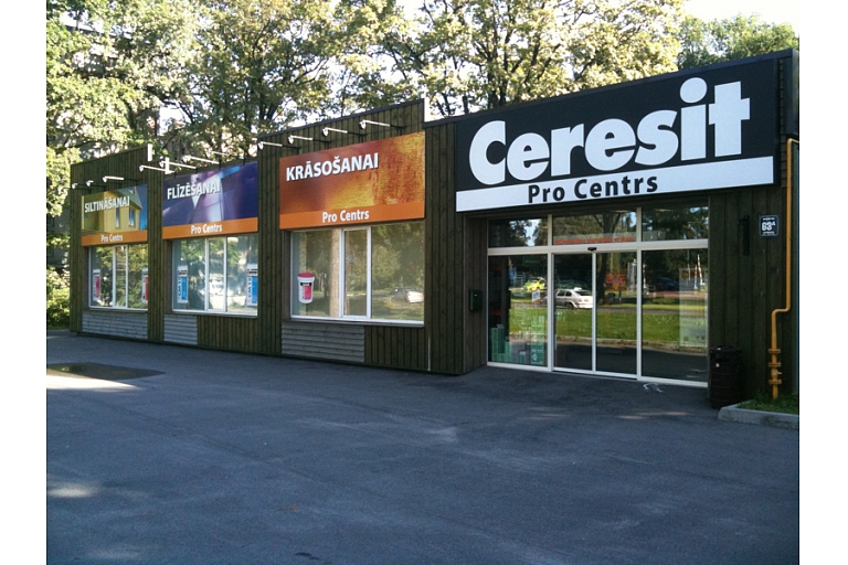 Ceresit Pro in Ventspils street 63a