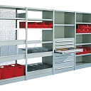 Metal shelves, Warehouse shelves, Riga, Daugavpils