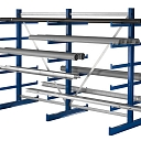 Metal shelves, Warehouse shelves, Archive shelves, Riga, Valmiera