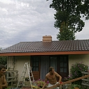 Metal roofs in Adazi