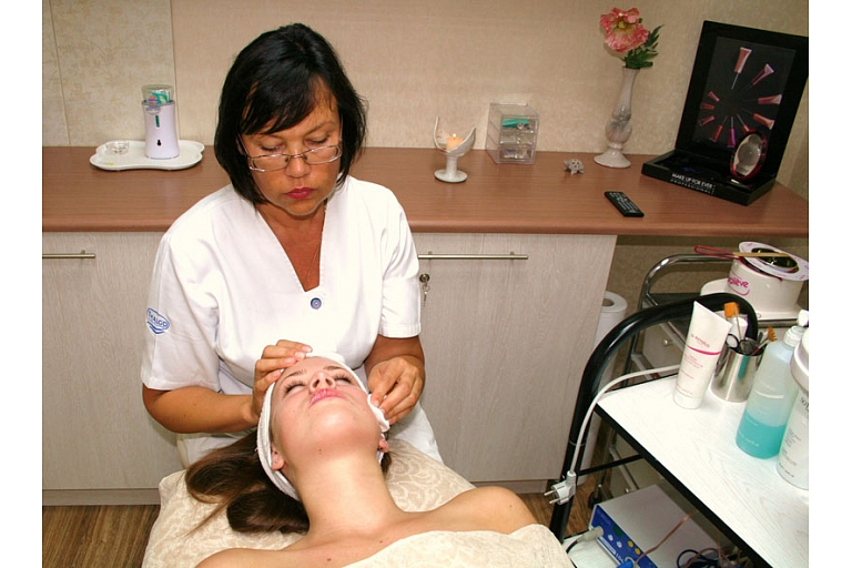 Facial cosmetology procedures in Riga, Valmiera, Vidzeme