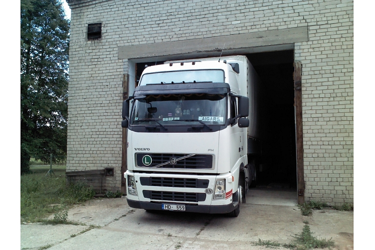 Truck service in Zemgale