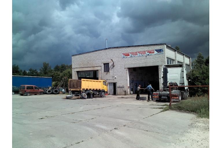 Truck repair in Dobele
