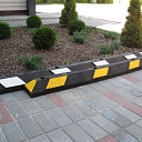 Speed humps for road works
