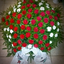 Large funeral wreaths in Jelgava