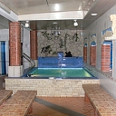 Russian bath with swimming pool in Riga