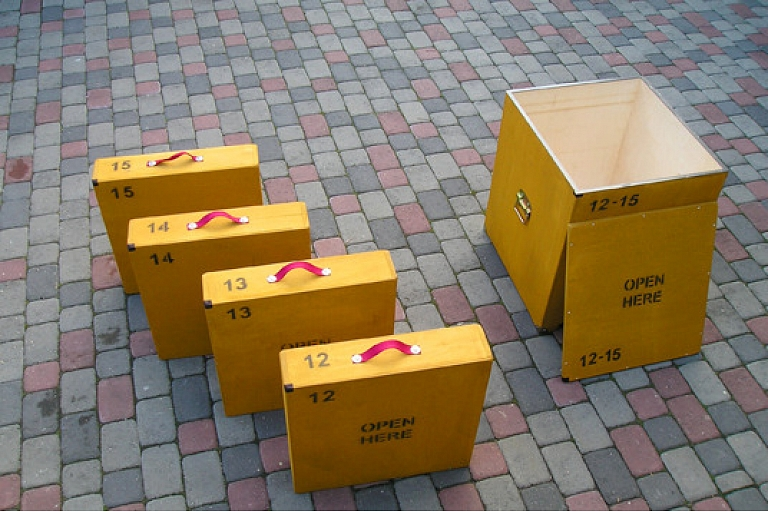 Wooden boxes manufacturing