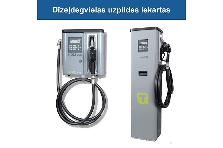 Diesel fuel filling equipment