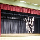Stage curtain sewing