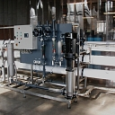 Automatic water treatment complexes