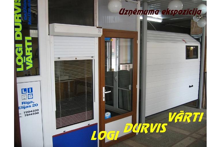 Logi, durvis un vārti Rīgā