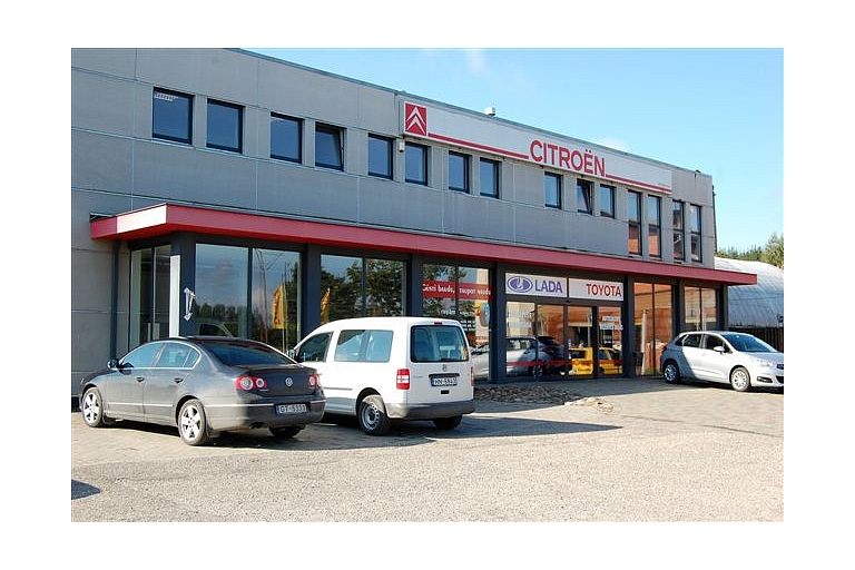 Citroen car sales in Kurzeme