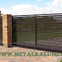 Metal sliding gates