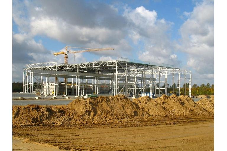Ase construction of house building in Smiltene Vidzeme