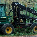 Professional forestry services in whole Latvia