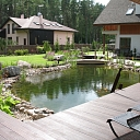 Decorative garden pond
