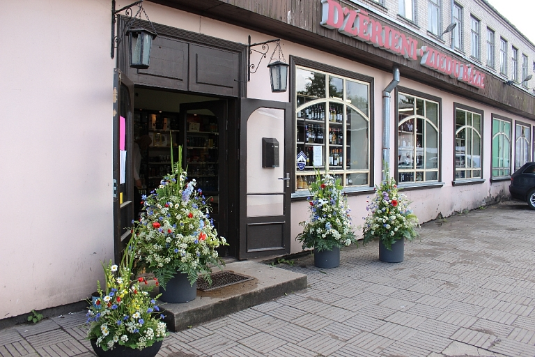 Flower and alcohol wholesale in Jurmala