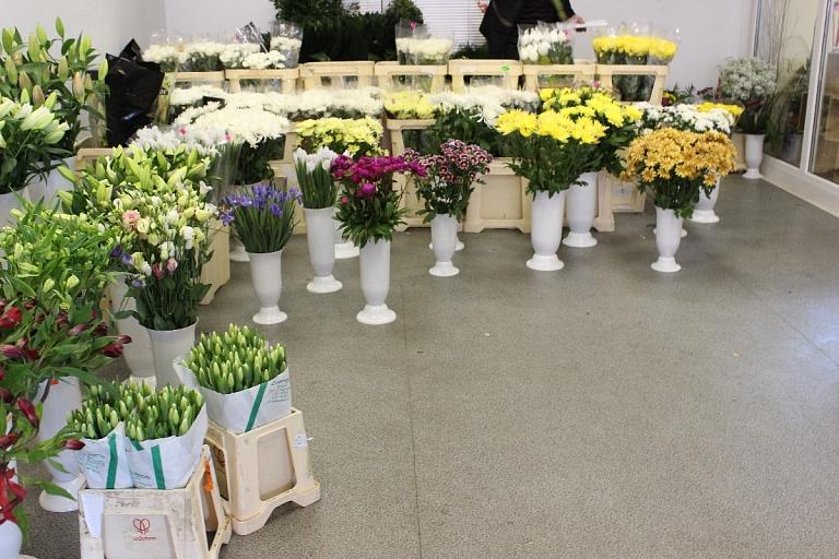 Ziedu tirdzniecība Rīgā