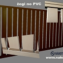 Durable PVC fences
