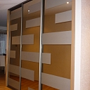 Built-in closets upon individual project