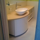 Artificial stone surfaces for bathrooms upon order