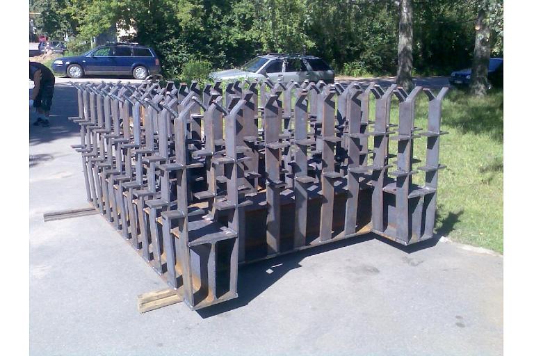 Nestandarta metāla konstrukcijas