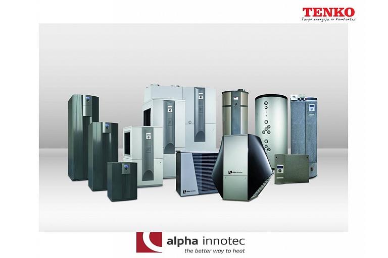 Alpha InnoTec iekārtas