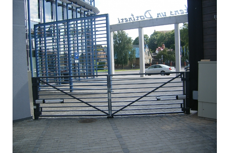 Factory, company gate, assembly and sale